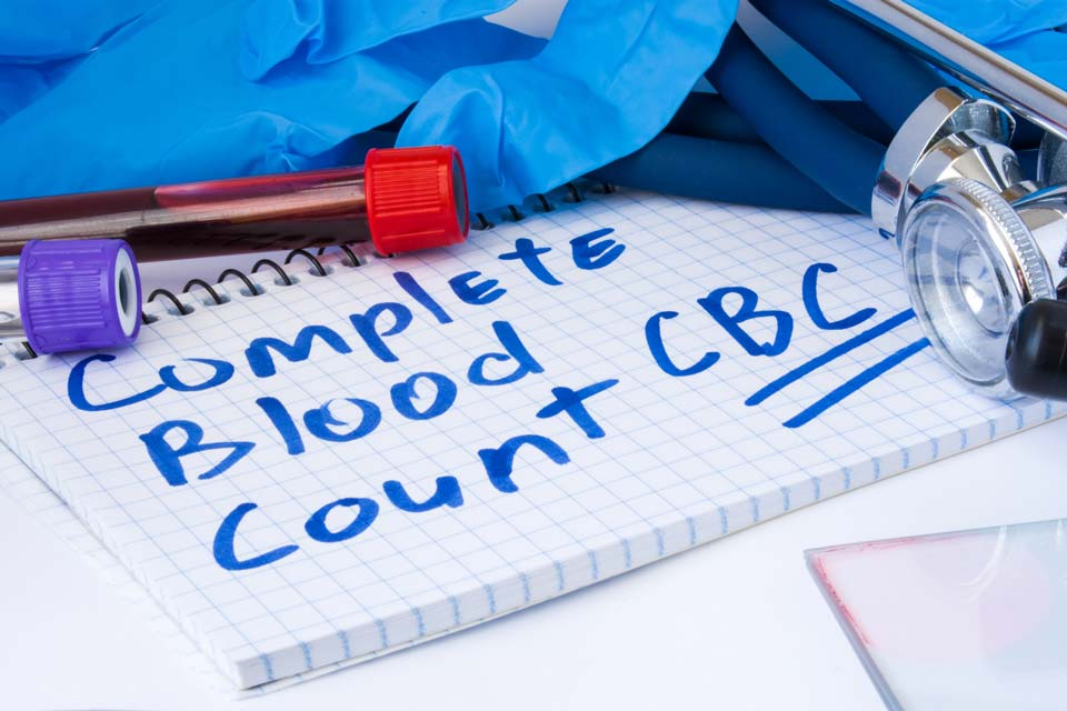 Chronic aplastic anemia causes low counts in all types of blood cells.